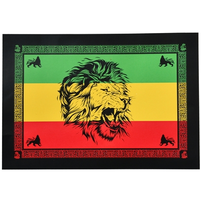 Rasta Lion Head Tapestry