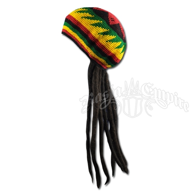 Adult Fake Dreadlocks Wig with Tam / Hat