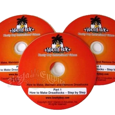 Knotty Boy, How to Make Dreadlocks DVD