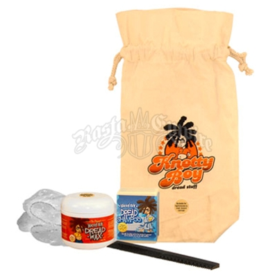 Knotty Boy Deluxe Dreadlock Starter Kit - Dark
