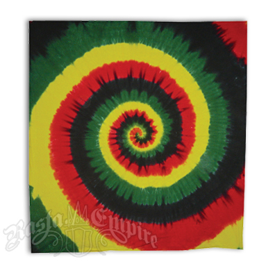 Rasta Spiral Tie Dyed Tapestry. Rasta  Reggae and Bob Marley Decor   RastaEmpire com