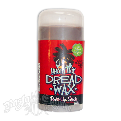 Knotty Boy Dread Wax Roll-Up Stick - Dark