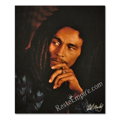 Bob Marley Legend Fleece Throw