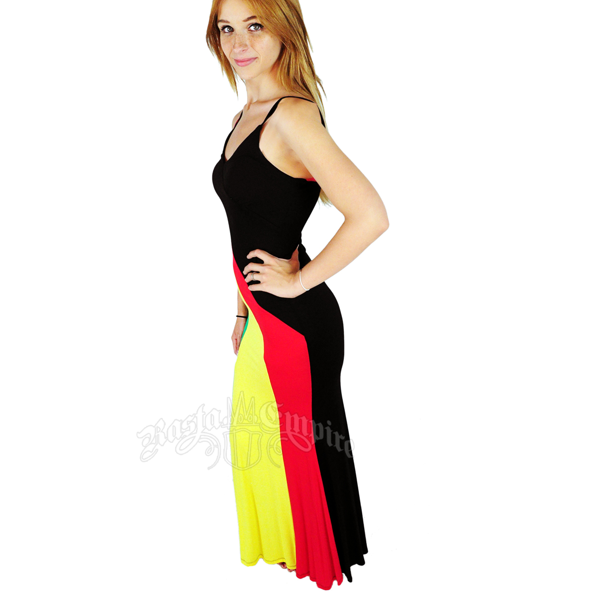 Simple Jamaican Clothing For Women Jamaica Flag Alter Back Dress 100  Rayon