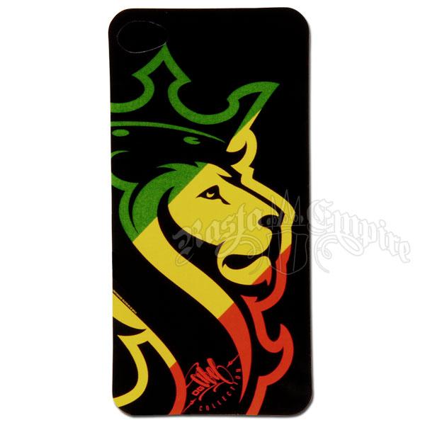 Lion With Crown Car Logo Rasta lion iphone vinylLion With Crown Car Logo