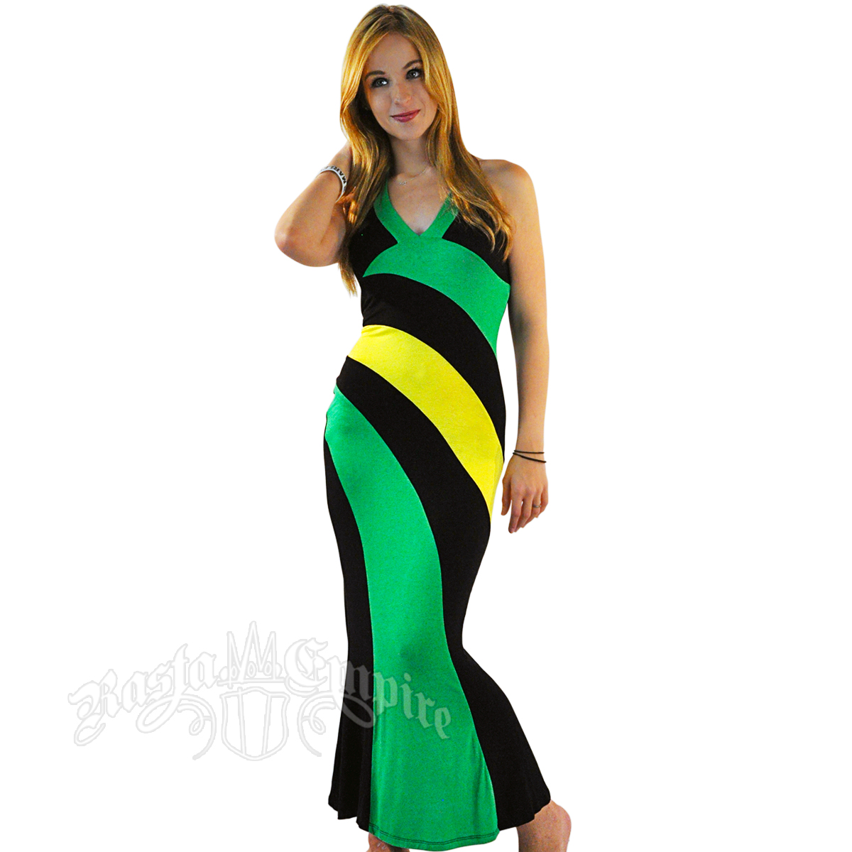 Perfect Rasta Woman Costume Rasta Clothing