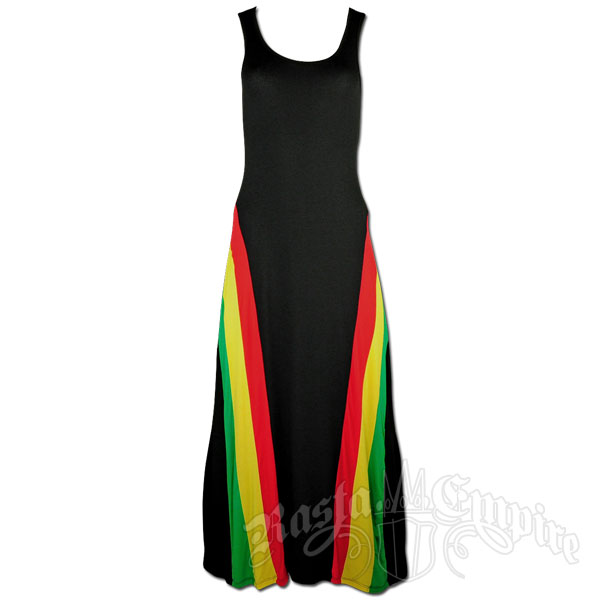 Rasta and Reggae Tank Top Maxi Dress @ RastaEmpire.com