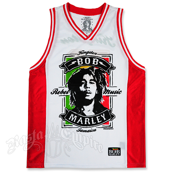 Bob Marley Rebel Music Jersey Men S