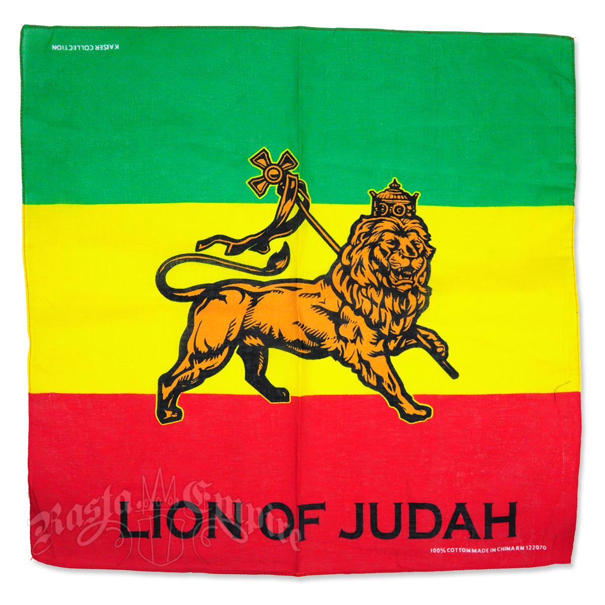 Lion Of Judah Bandana @ RastaEmpire.com Conquering Lion Of Judah