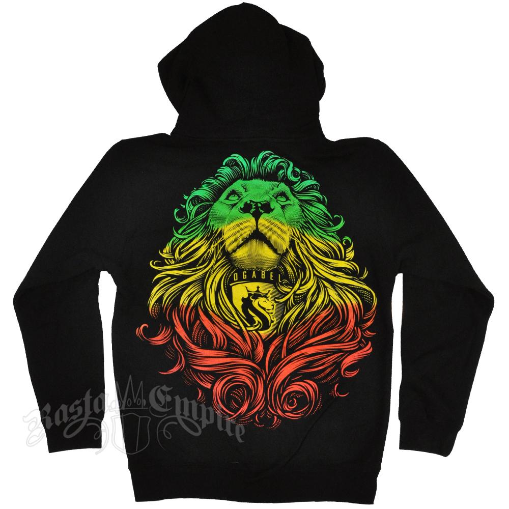 Rastafarian hoodie