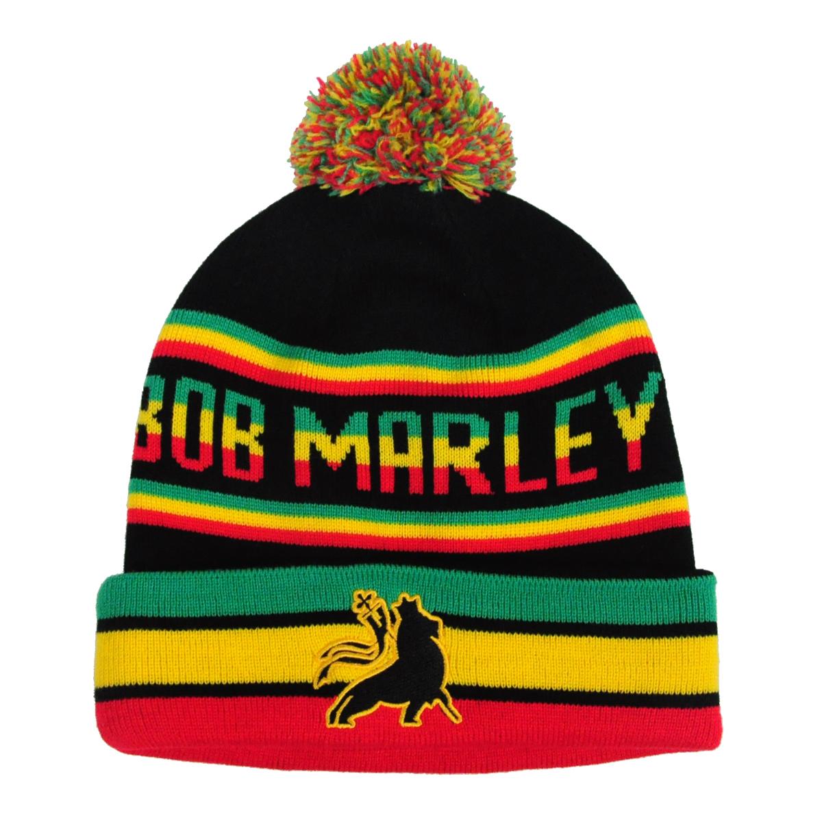 Bob Marley One Love Beanie w  Pom f678f7eca0d