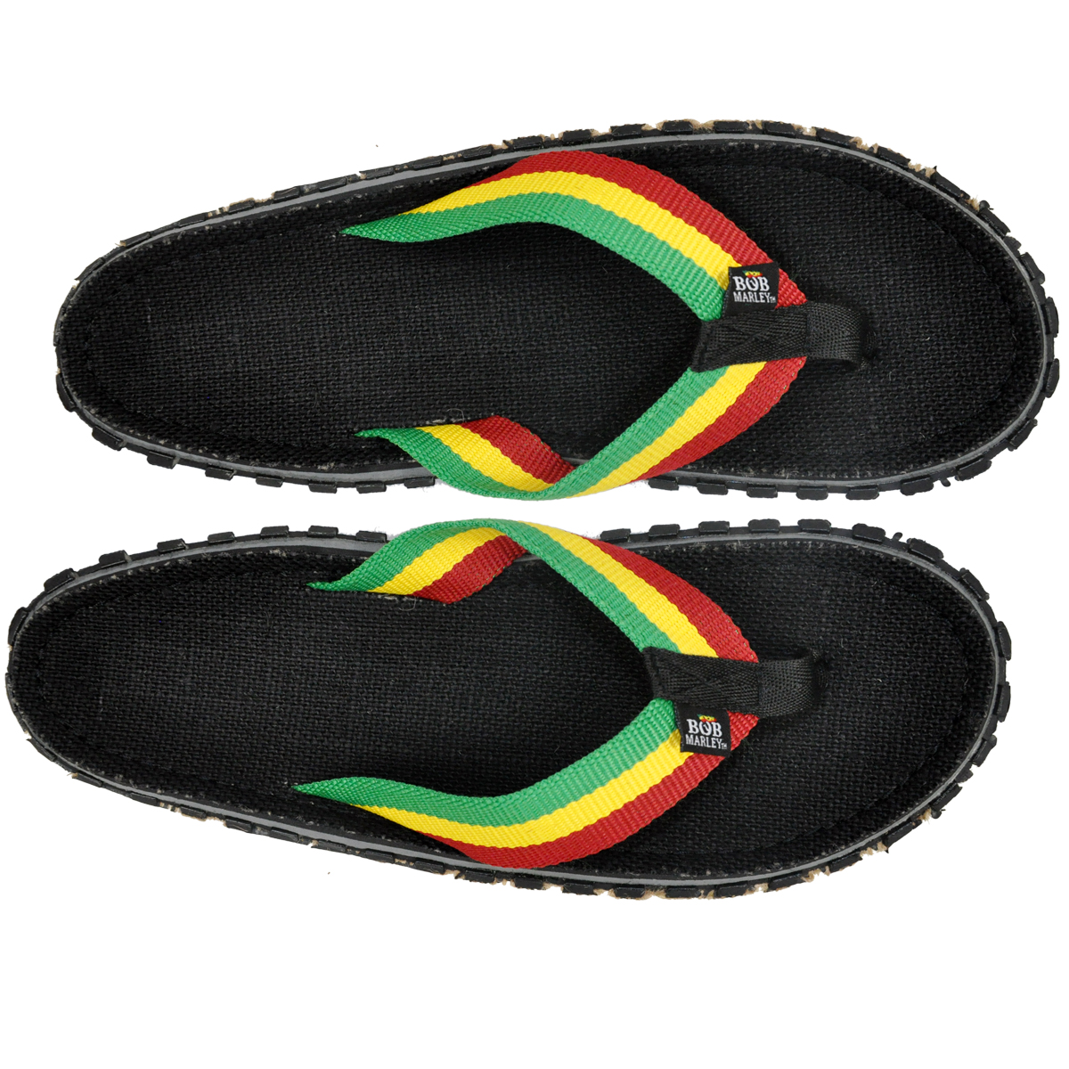 Bob Marley Fresco Black Sandals Men S