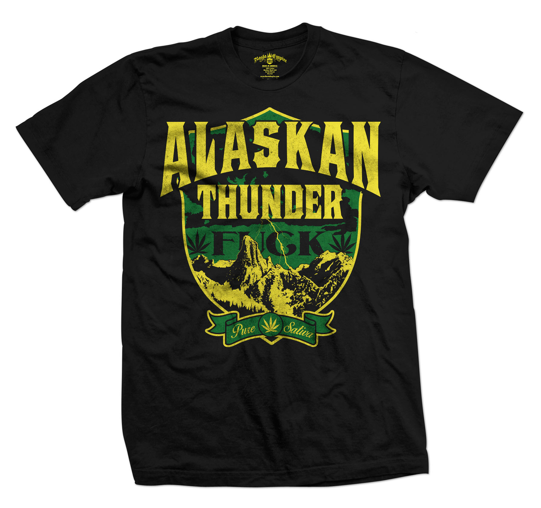 Alaskan Thunder Fuck marijuana t-shirt wholesale