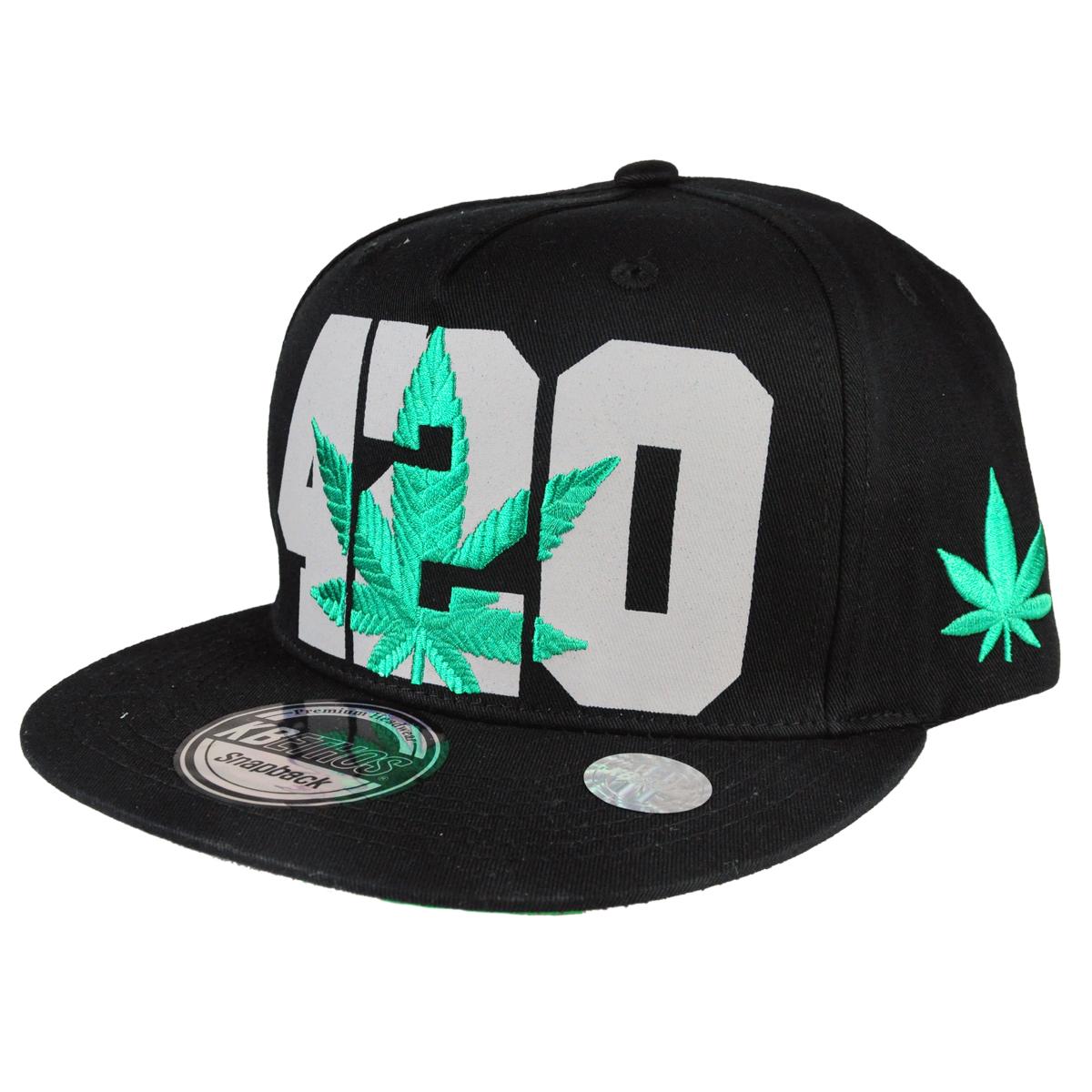 cdbdeaebda573 420 Pot Leaf Hat - Black. SKU IW8000. Show Picture 1 ...