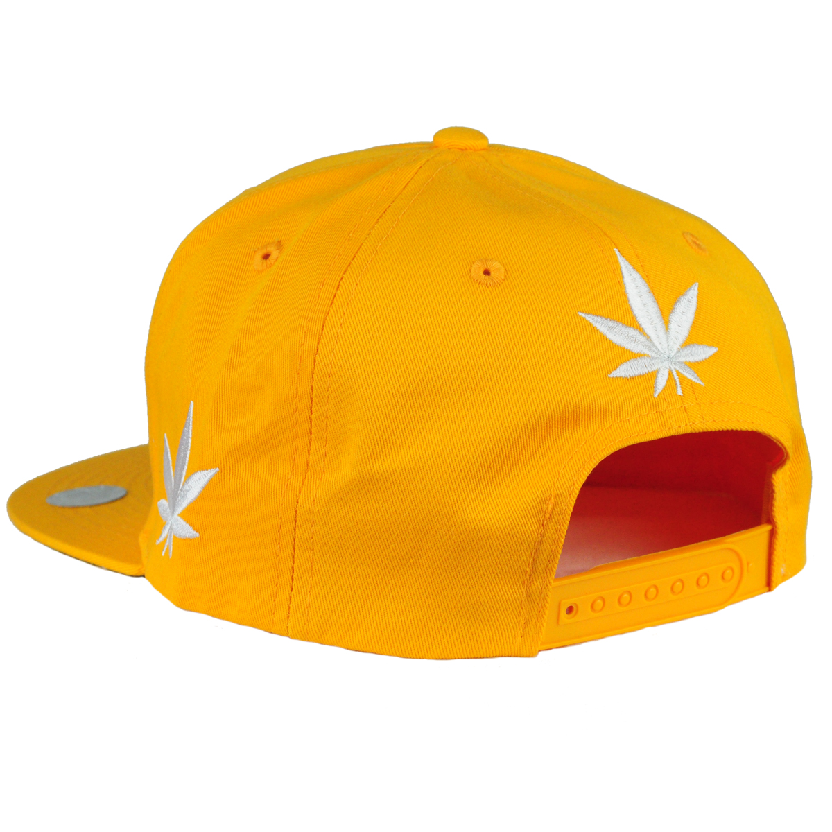420 Pot Leaf Hat Yellow