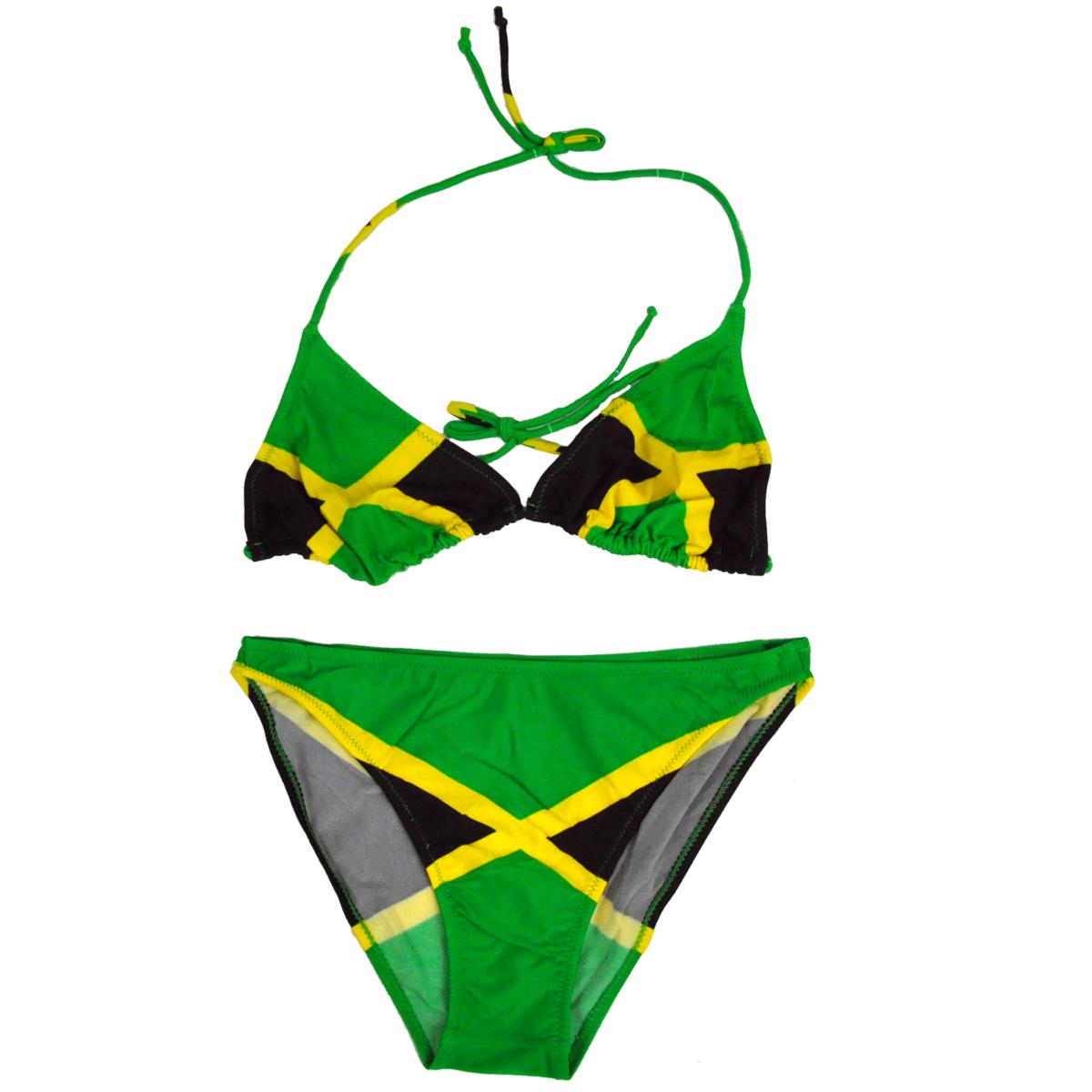 Jamaican flag bikini swimsuit show picture 1 voltagebd Gallery