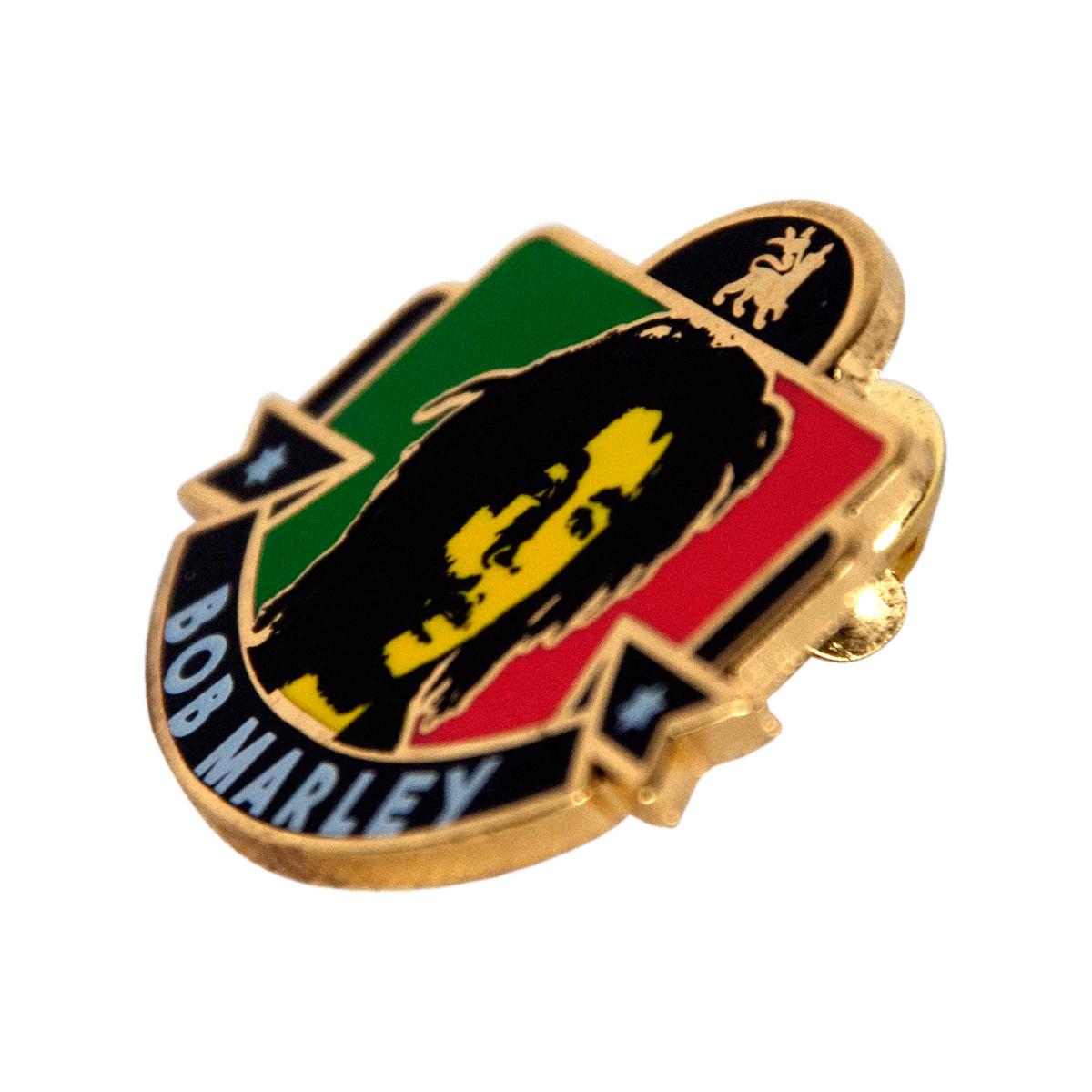 bob marley lion pin at rastaempire
