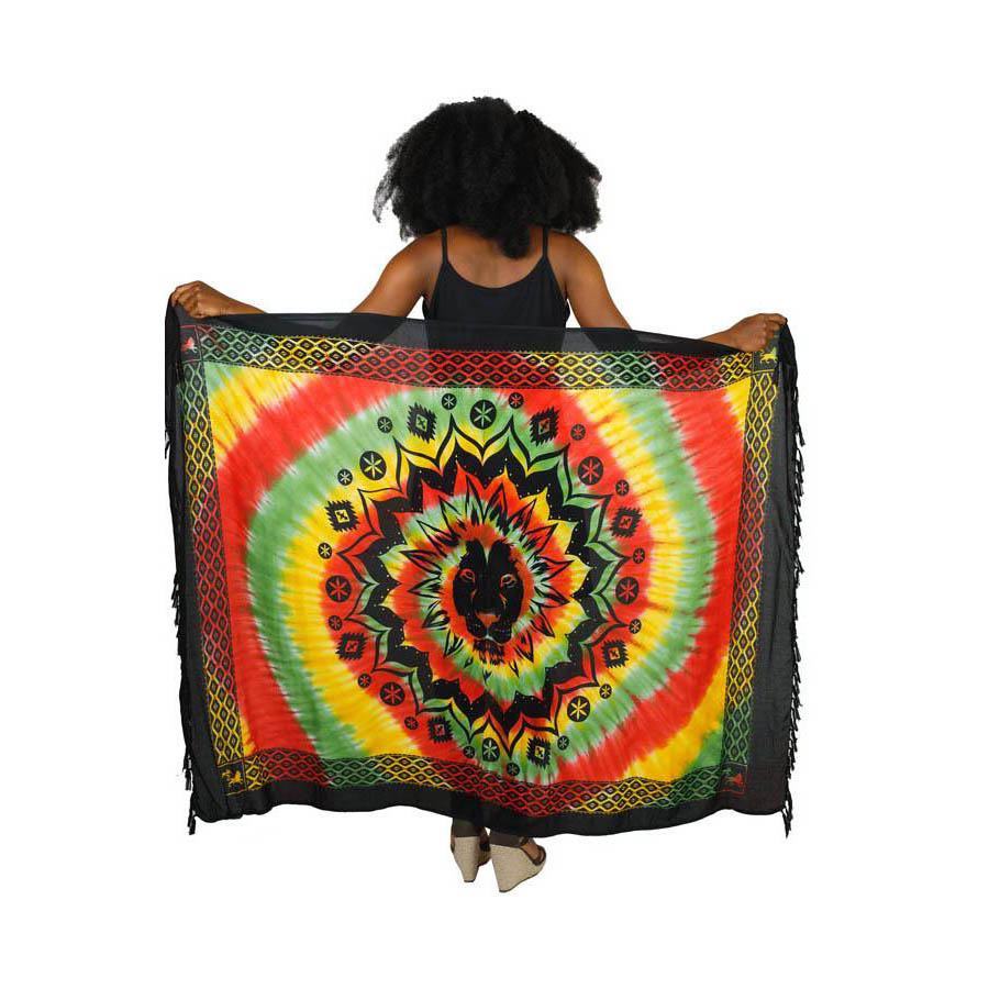 Tie dye tapestry tie dye sarong unisex tie dye skirt